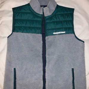 Vineyard Vines Sherpa Vest